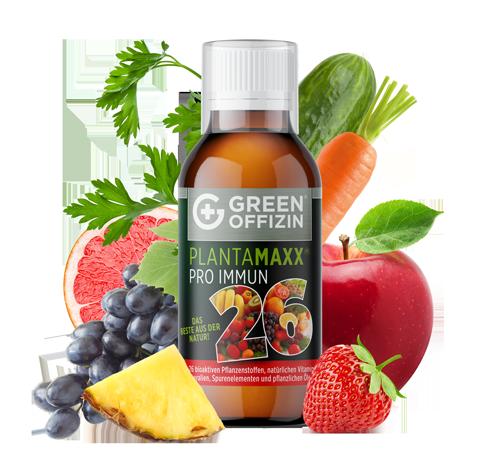 Plantamaxx Pro Immun 26 Saft mit Obst und Gemüse